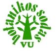 Botanikos sodas logo